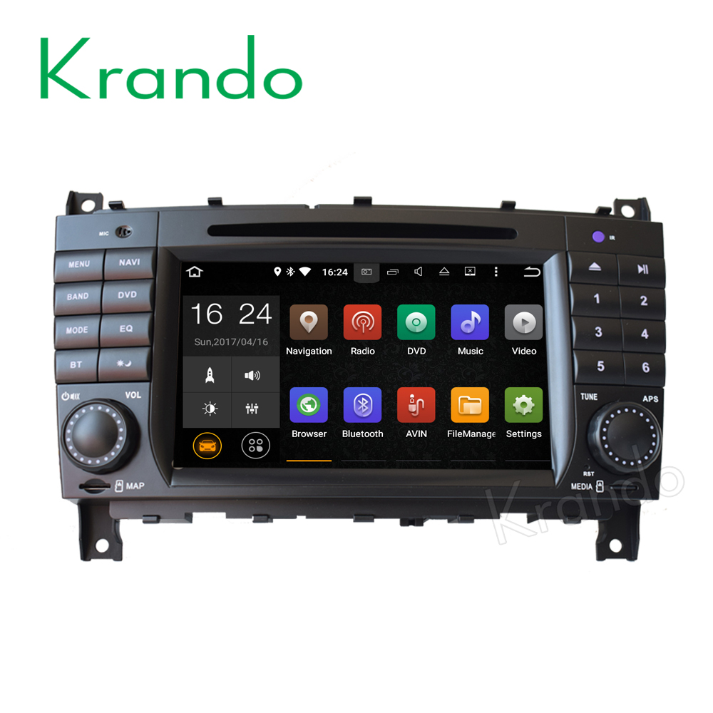 <strong>Android 5.1 mercedes w203 c class 2004-2007 KD-MB203</strong>O